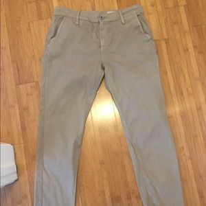 AG tan trousers